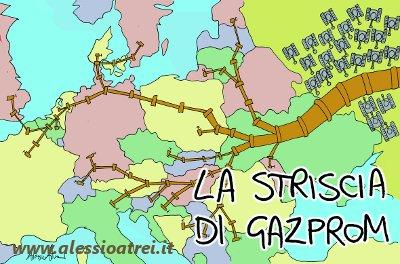 La Striscia di Gazprom