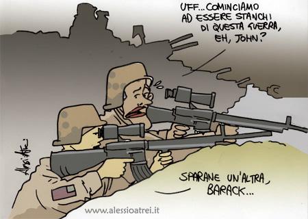stanchi di guerra