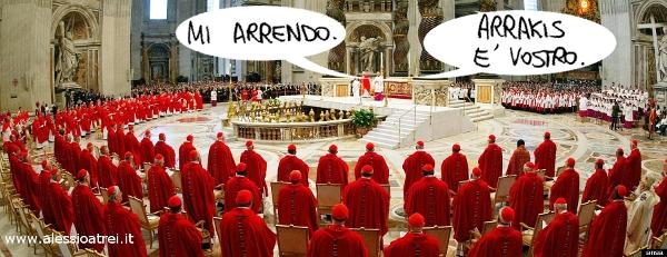 Il Papa Imperatore Dio Arrakis