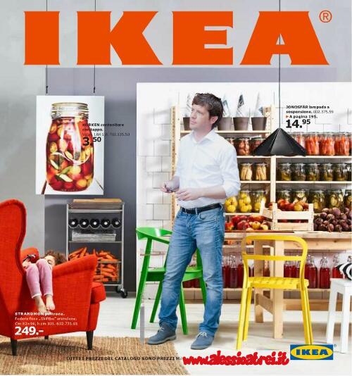 Pippo Civati sul catalogo Ikea vanity Fair