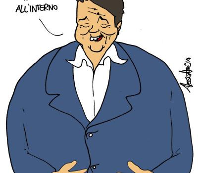 Matteo Renzi Angelino Alfano