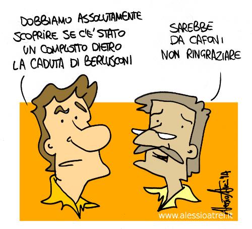 Complotto Ue-Usa contro Berlusconi