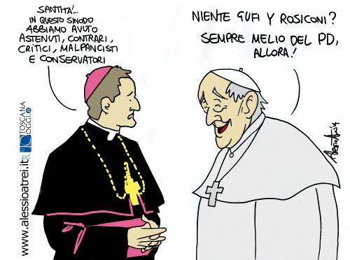 Sinodo Vaticano Papa Francesco PD fugi rosiconi