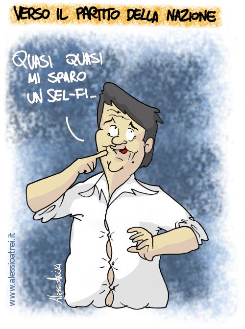 Partito della Nazione PD Matteo Renzi NCD Forza Italia Scelta Civica SEL