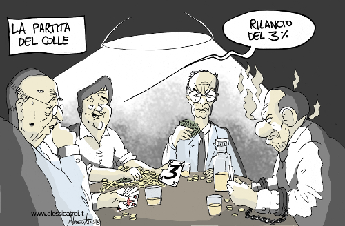 Colle Quirinale Renzi Napolitano Padoan Berlusconi