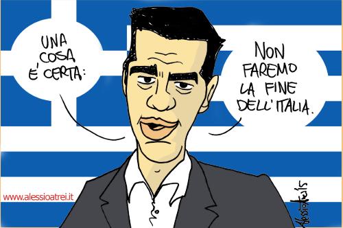 Tsipras Syriza Italia Non faremo la fine della Grecia