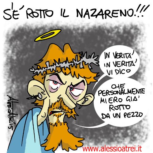Rotto il Patto del Nazareno