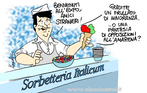 renzi expo italicum