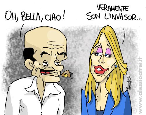 Boschi Bersani Bella Ciao Invasor Italicum Fiducia