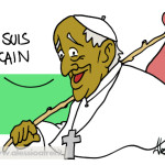 Era vero, dopo miss Italia avremmo avuto un papa nero