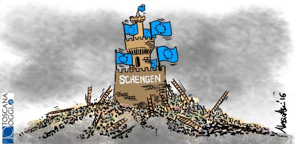 Schengen europa migranti UE