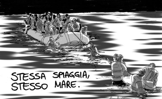 migranti rotta mediterranea sbarchi 2016