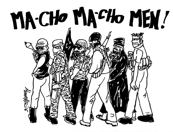 isis macho men