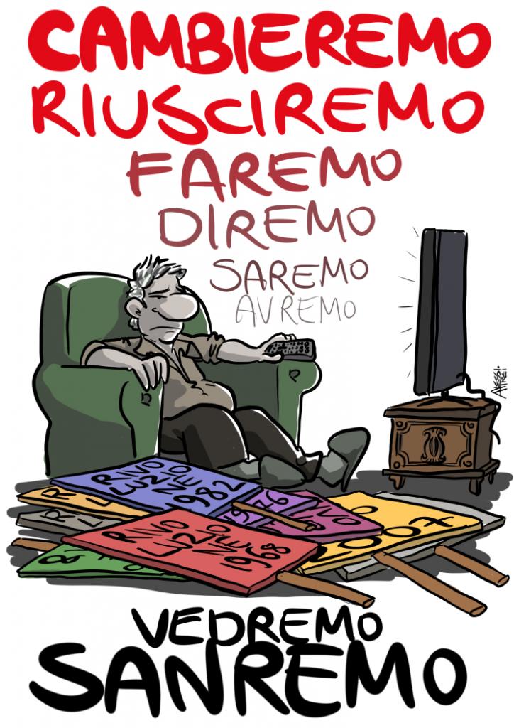 Sanremo, rivoluzione all'italiana