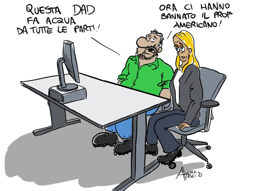 DAD Trump Salvini Meloni ToscanaOggi