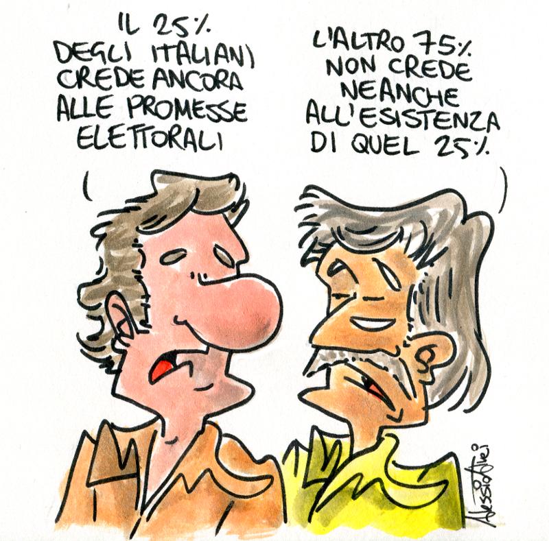 astensionismo promesse elettorali fisac sostiene