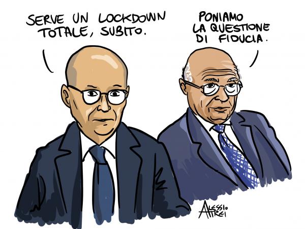 Galli-crisanti-virologi-covid-pandemia-lockdown