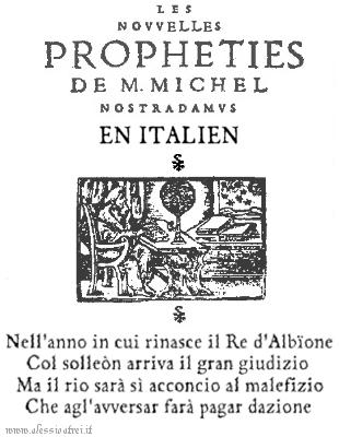 Nostradamus profezia berlusconi mediaset sentenza PD 2013