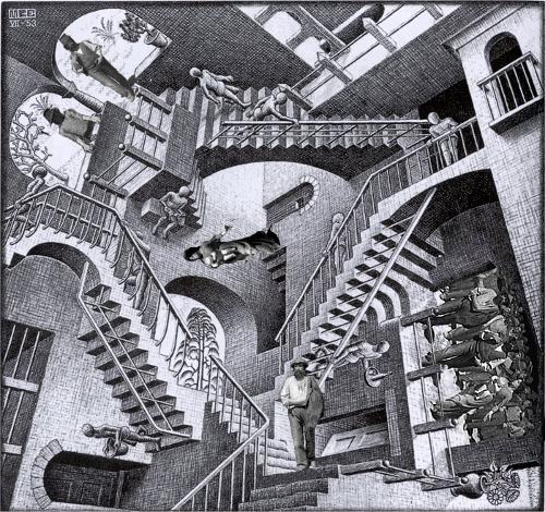 Il Quarto Stato nel Terzo Millennio Escher Pellizza da Volpedo