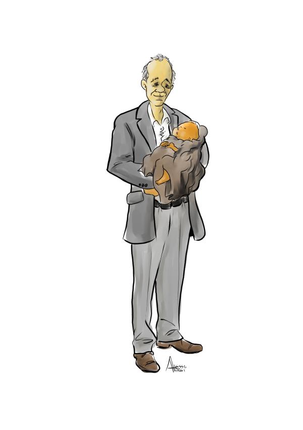 illustrazione racconto di natale 2020 Alessandro Zaccuri Toscanaoggi