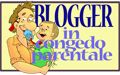 Bottone Blogger in congedo parentale