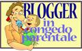 Bottone Blogger in congedo parentale