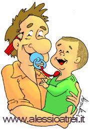 Padre in congedo parentale