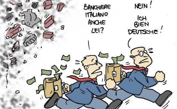 deutsche bank commerzbank sistema bancario europa mps banche