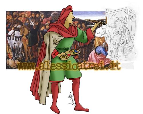 Adorazione dei Magi Epifania Befana ToscanaOggi Cosimo Rosselli Ludovica Sebregondi