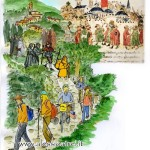 La Via Francigena ieri e oggi