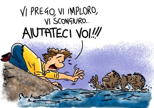 Migranti naufraghi canale di sicilia
