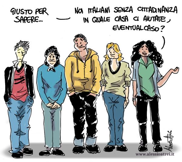 Ius Soli Italiani senza cittadinanza seconda generazione