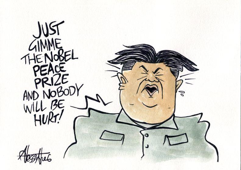 Kim Yong Un North Korea Olymipics