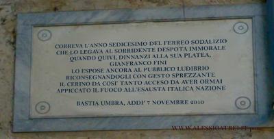 FLI Gianfranco Fini Bastia Umbra