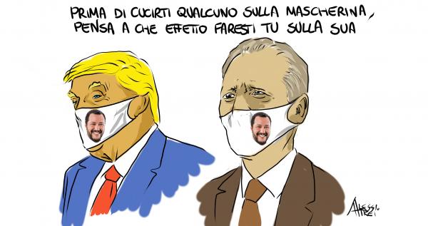 Dietro le mascherine