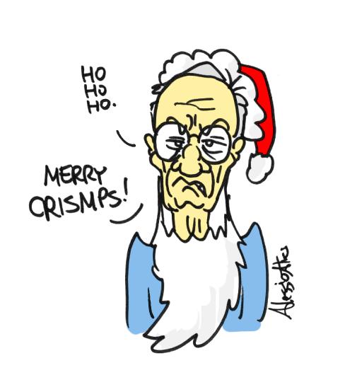padoan mps salvabanche natale vignette caricature